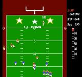 10-Yard Fight NES Every 1st down adds more time to the clock plus increases the players score