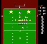 10-Yard Fight NES Lining up for the extra point kick
