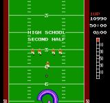 10-Yard Fight NES After the touchdown, the 2nd half begins