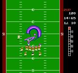 10-Yard Fight NES Controlling a defender