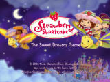 Strawberry Shortcake: The Sweet Dreams Game PlayStation 2 Title screen.