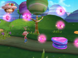 Strawberry Shortcake: The Sweet Dreams Game PlayStation 2 Such a wonderful day here in Strawberryland. Oh, and nice particle effects, too.