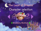 Strawberry Shortcake: The Sweet Dreams Game PlayStation 2 Character selection. It's pretty obvious that kids find it fun if they can play as someone besides Strawberry, right?