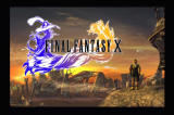 Final Fantasy X PlayStation 2 Title screen
