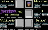 Garrison Commodore 64 Now, which player gets to control whom?