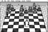 Battle Chess Macintosh Down to just my King!