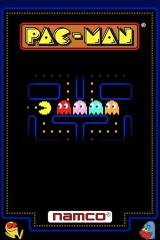 Pac-Man iPhone Title Screen