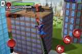 Spider-Man: Total Mayhem iPhone You can slide down power lines.
