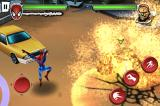 Spider-Man: Total Mayhem iPhone Find water to take him down.
