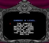 Snow White in Happily Ever After SNES Players can choose a level of their choice (only if the player has reached that level)