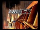 F-Zero GX GameCube Title Screen