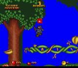 Snow White in Happily Ever After SNES The Shadow Man finds a secret platform