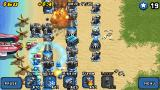 Mega Tower Assault J2ME Towers can be upgraded for some massive fire power.