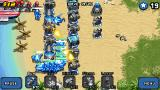 Mega Tower Assault J2ME A few waves into the game and things start to get really hectic