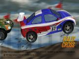 Rally Cross PlayStation Title Screen