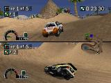 Rally Cross PlayStation You can play with another friend in several two-player modes.