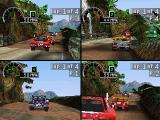 Rally Cross PlayStation You can play with three more friends in several four-player modes.
