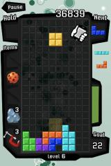 Tetris iPhone Shake the iPhone to turn the blocks into your own attack device.