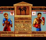 Best of the Best Championship Karate SNES Main Menu