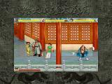 Shuihuzhuan: Liangshan Yingxiong DOS Storming the palace, multiplayer-style.