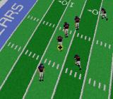 NFL Football SNES The field can sometimes rotate to change perspectives