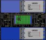 NFL Football SNES Contents of a playbook