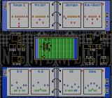 NFL Football SNES Types of plays