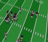 NFL Football SNES Passing the ball