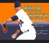 Nolan Ryan's Baseball  SNES Title screen