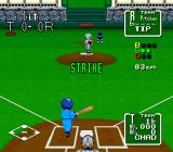 Nolan Ryan's Baseball  SNES A strike is thrown