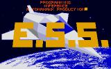 E.S.S. Atari ST Title Screen