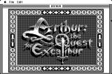 Arthur: The Quest for Excalibur Macintosh Title