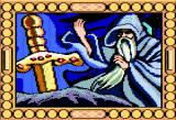 Arthur: The Quest for Excalibur Apple II Merlin