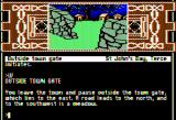 Arthur: The Quest for Excalibur Apple II Outside town gate