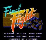 [Final Fight] Title Screen