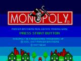 Monopoly SEGA Master System Title Screen