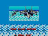 After Burner SEGA Master System Title Screen #2