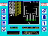 Max Headroom ZX Spectrum Start of the game