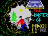 Master of Magic ZX Spectrum Title screen