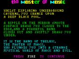 Master of Magic ZX Spectrum Background story