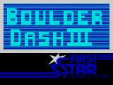 Boulder Dash III ZX Spectrum Another title screen