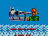 After Burner SEGA Master System Title Screen #3