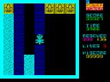 The Survivors ZX Spectrum Managed to get to a cave