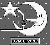 Super Mario Land 2: 6 Golden Coins Game Boy Space zone