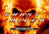 Ghost Rider PlayStation 2 Title screen.