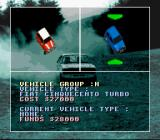 Power Drive SNES Choose your car and its colour.