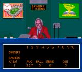 Relief Pitcher SNES The announcer's booth