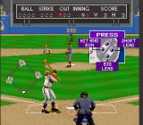 Relief Pitcher SNES Bases loaded