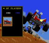 Road Riot 4WD SNES Select the number of players