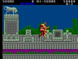 Altered Beast SEGA Master System Jump - Powered up form